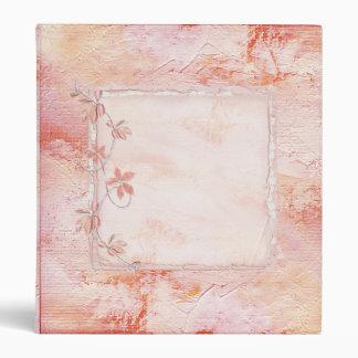 Carpeta rosada suave hermosa