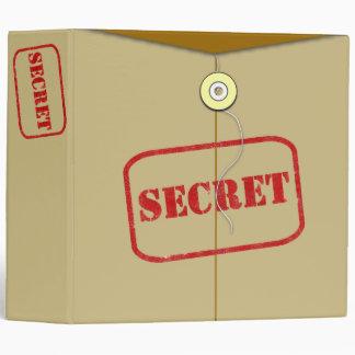 Carpeta secreta de la seguridad de la carpeta de A