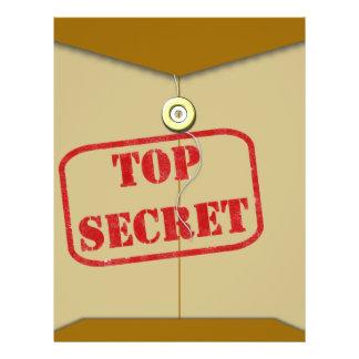 Carpeta secreta para los cocineros secretos tarjetas publicitarias