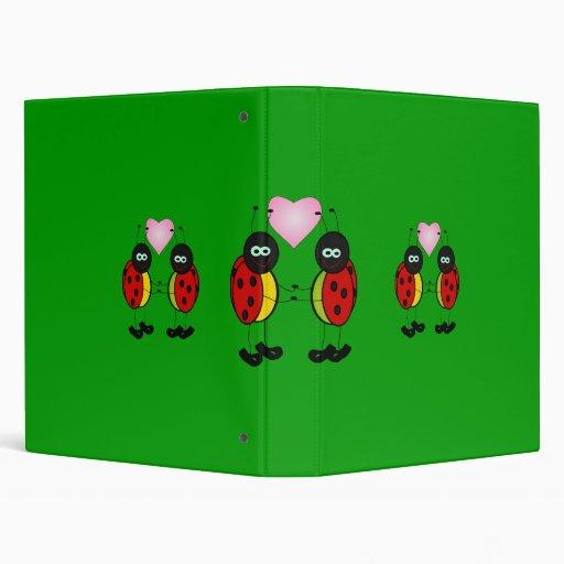Carpeta - señora Bug Couple