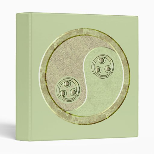 Carpeta suave de Yin Yang del Celadon