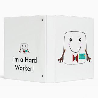 Carpeta suave del trabajador