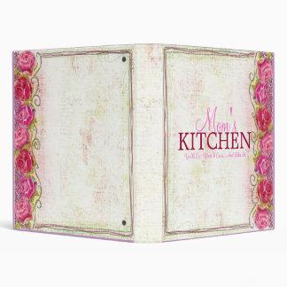 Carpeta subió cocina de la receta del bordado de l