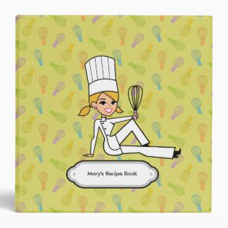 Carpeta temática de la receta del panadero de la f