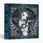 Carpeta tribal gótica del ángel del bailarín de la