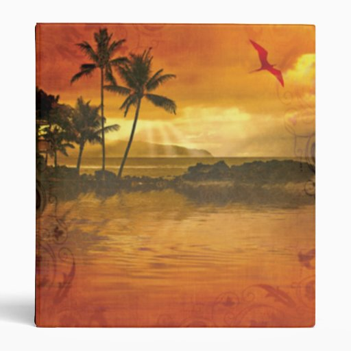 Carpeta tropical del paraíso