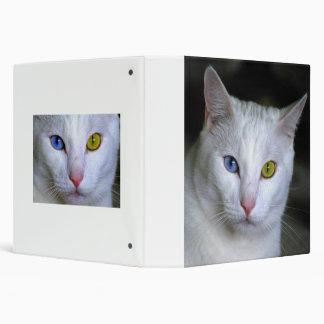 Carpeta turca del gato del angora