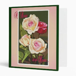 Carpeta un color de rosa