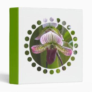 Carpeta única de la orquídea