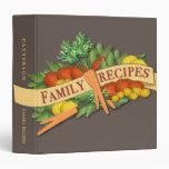 Carpeta vegetal de la receta de la familia del vin