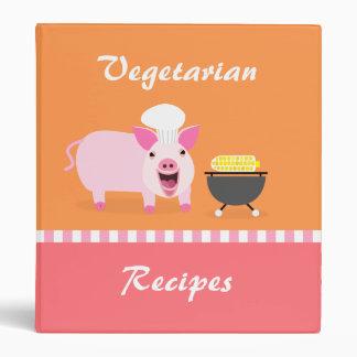 Carpeta vegetariana de la receta