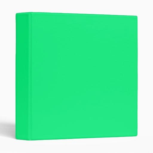 Carpeta verde clara