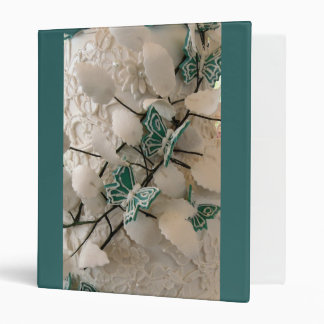 Carpeta verde de las mariposas