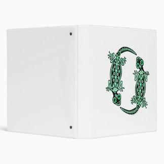 Carpeta verde del tótem de los Geckos