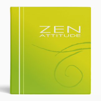 Carpeta verde del zen