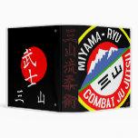 Carpeta XL de Jujutsu del combate de Miyama Ryu