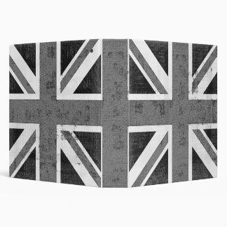Carpetas de Reino Unido de la bandera del vintage