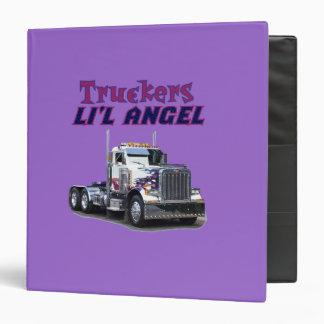 Carpetas del ángel de Li'l de los camioneros