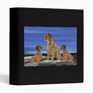Carpetas del hábitat de la familia del guepardo