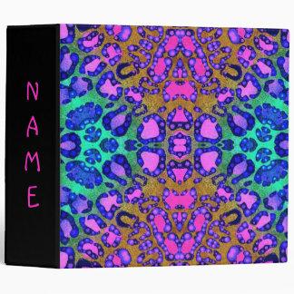 Carpetas fluorescentes de Avery del modelo de la