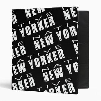 Carpetas nativas del neoyorquino