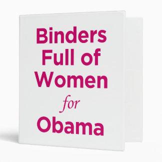 Carpetas por completo de las mujeres para la carpe