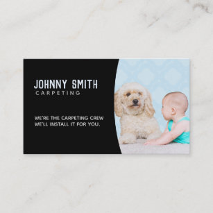 Carpeting Slogans Business Cards