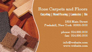 Flooring business cards templates zazzle carpets and floors business card colourmoves