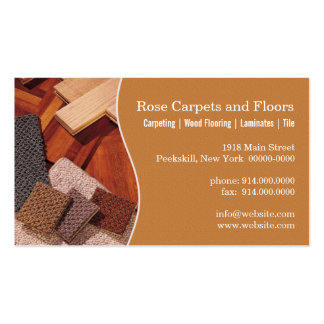 Carpets and Floors Business Card Template