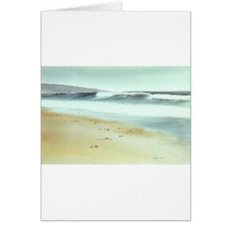 Carpinteria Beach Card