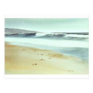 Carpinteria Beach Postcard