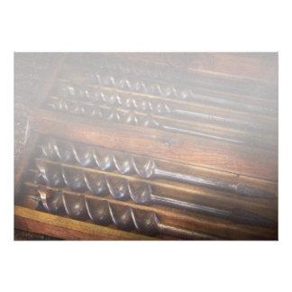 Carpintería - herramienta - pequeño ayudante de Ar Invitacion Personalizada