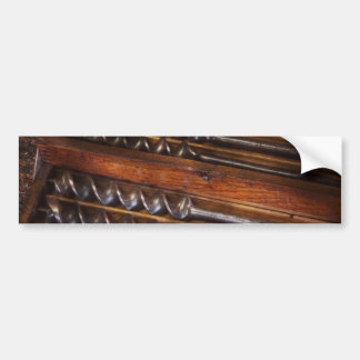 Carpintería - herramienta - pequeño ayudante de pegatina para auto