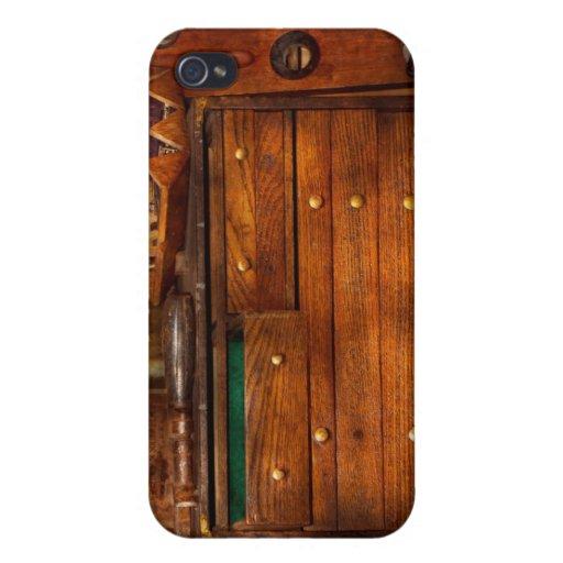 Carpintería - herramientas - en mis días más joven iPhone 4/4S carcasas