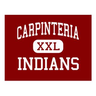 Carpinteria - indios - centro - Carpinteria Postal