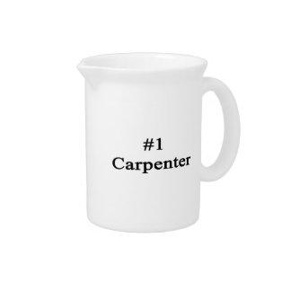 Carpintero del número 1 jarras