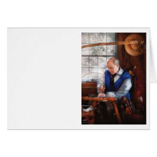 Carpintero - el Woodturner Tarjeta De Felicitación