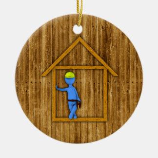Carpintero Ornamentos De Navidad