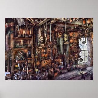Carpintero - que es muchas herramientas impresiones