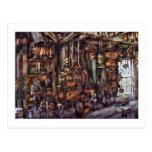 Carpintero - que es muchas herramientas postales
