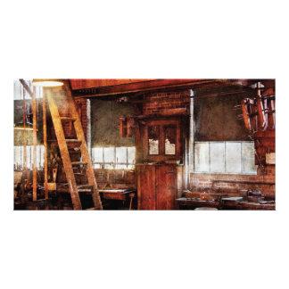 Carpintero - taller viejo tarjeta personal
