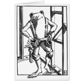 carpintero tarjetón