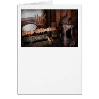 Carpintero - torno - versión preliminar tarjetas