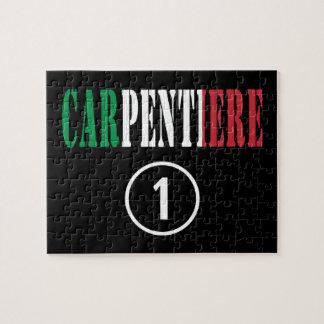 Carpinteros italianos: Uno de Carpentiere Numero Rompecabezas Con Fotos