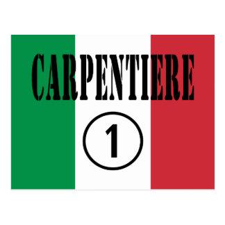 Carpinteros italianos: Uno de Carpentiere Numero Tarjeta Postal