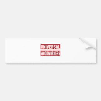 Carpinteros universales pegatina para auto