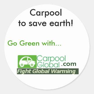 Carpoolglobal Sticker