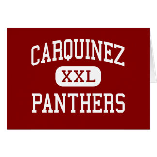 Carquinez - Panthers - Middle - Crockett Card