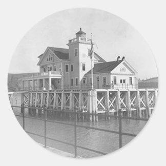 Carquinez Strait Lighthouse Stickers