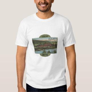 Carr China Company Postcard, Grafton, W.V. T-shirt